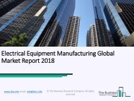 Electrical Equipment Manufacturing Global Market Report