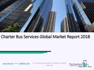 Charter Bus Services Global Market Report 2018