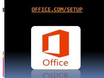 office.com/setup - www.office.com/setup