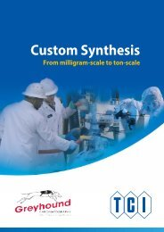 Tokyo Chemical Industries (TCI) Custom Synthesis From Milligram Scale to Ton-Scale