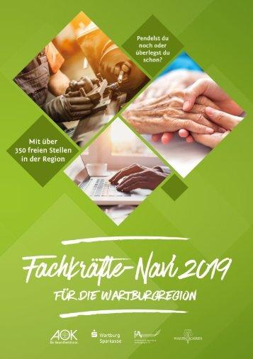 Fachkräfte-Navi für die Wartburgregion 2019