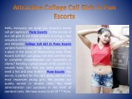 Attractive college Call girls in pune escorts : www.ritusaini.co.in