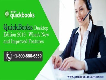 QuickBooks Desktop 2019: What's New and Improved