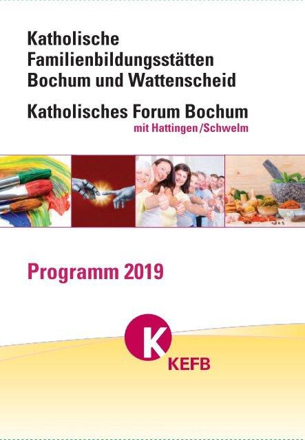 KEFB Bochum & Wattenscheid Programm 2019