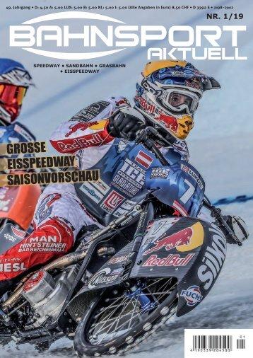 Bahnsport 01/2019