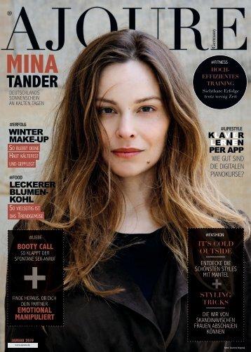 AJOURE´ Magazin Januar 2019