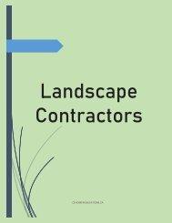 landscape contractors in Calgary