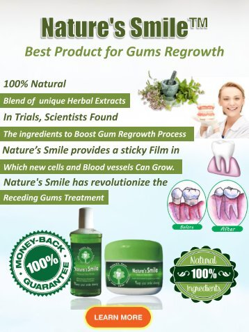 How to Regrow Gum Tissue Naturally