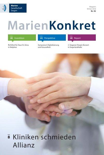 MarienKonkret 92 Winter 2018