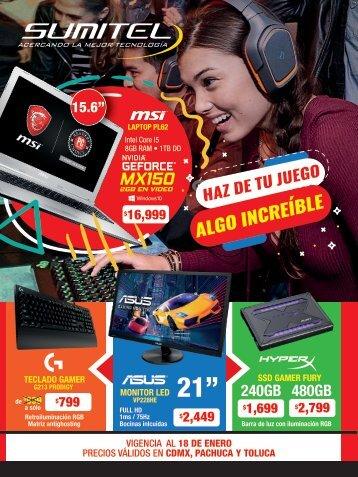 SUP GAMER CDMX ENERO 18