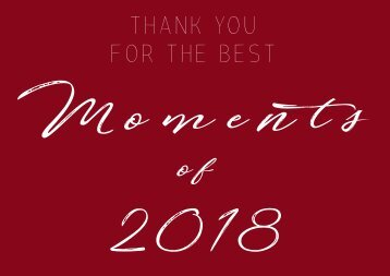 MTG GERMANY _ THANK YOU FOR THE BEST MOMENTS 2018