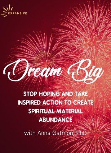 Dream Big Playbook Nov 2018