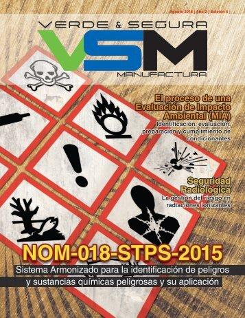 Edición 2, 2018. VSM Revista Verde & Segura Manufactura