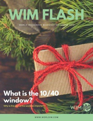 WIM Flash Magazine December 2018