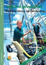 Weiterbildung 2019 Gartenbau Studenten aktuell