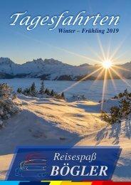 Tagesfahrten Winter 2019