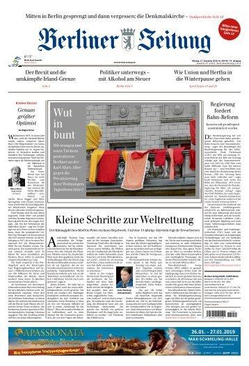 Berliner Zeitung 17.12.2018