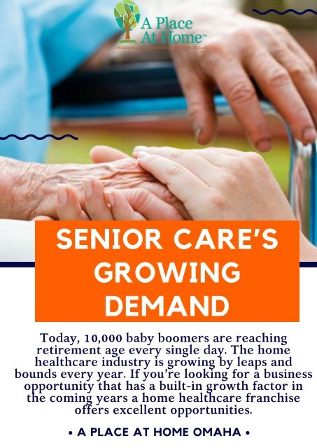 Home Healthcare Franchise - A Excellent Opportunity To Grow