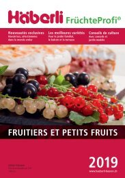 2019 Fruits et petits fruits de Häberli