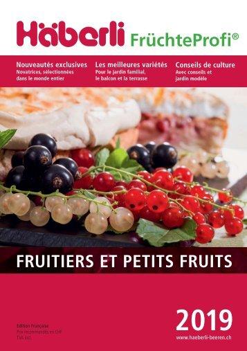 2019 Fruits et petits fruits de Häberli