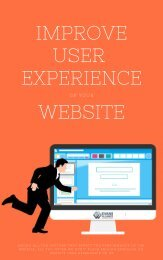 Improve User Experience Of Your Website