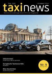 RAL1015 taxi news Heft 09-2018