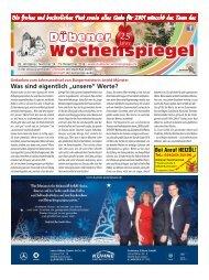 Dübener Wochenspiegel - Ausgabe 24 - Jahrgang 2018