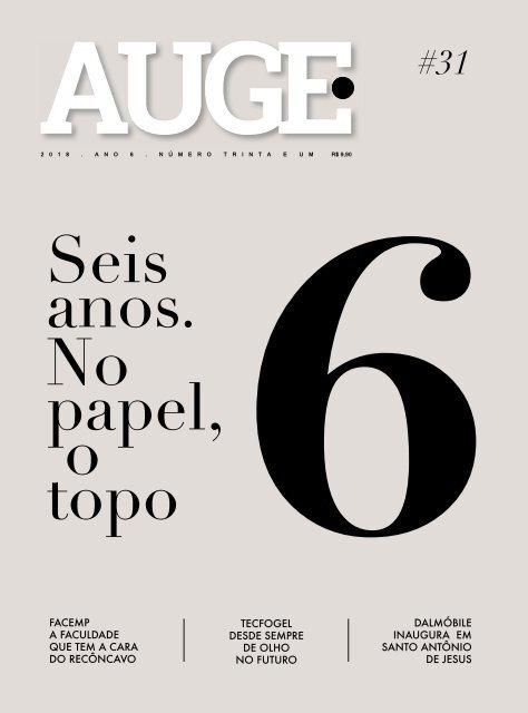 REVISTA AUGE - EDIÇÃO 31