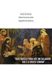 NATAL - Solenidade - Natal do Senhor - Missa da Noite