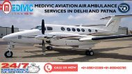 Book Ultimate Medivic Air Ambulance Services in Delhi and Patna