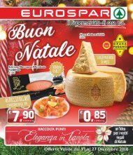 Eurospar S.Gavino 2018-12-13