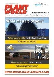 Construction Plant World December 2018