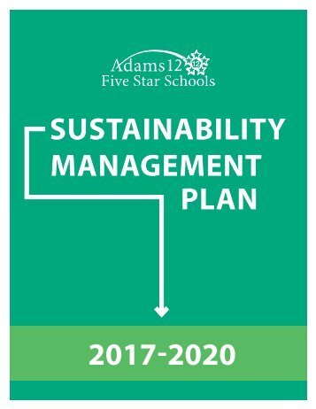 2017-2020 Sustainability Management Plan