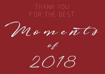 MTG GERMANY _ BEST MOMENTS OF 2018