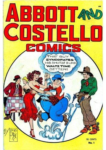 Abbott and Costello- N°1-1948
