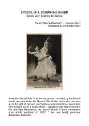 Alberto Spadolini & Josephine Baker 2019-converted