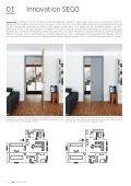 Das SEGO Schiebetürstem Für Mauerwerk und Trockenbau - Seite 4
