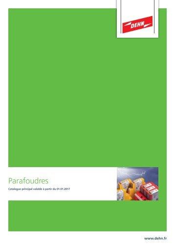 DEHN_Catalogue_Parafoudres_2017_FR