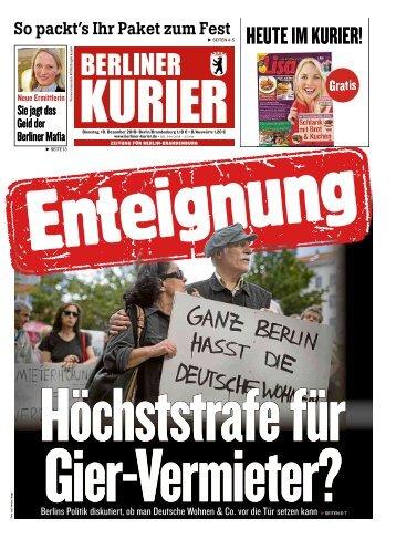 Berliner Kurier 18.12.2018