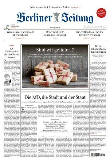 Berliner Zeitung 18.12.2018