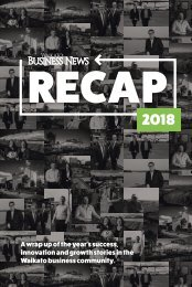Waikato Business News RECAP 2018