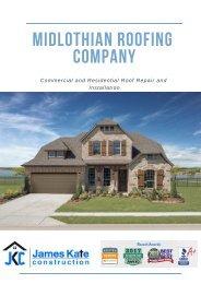 Roofing Contractors Midlothian TX