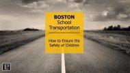 BOSTON School Transportation