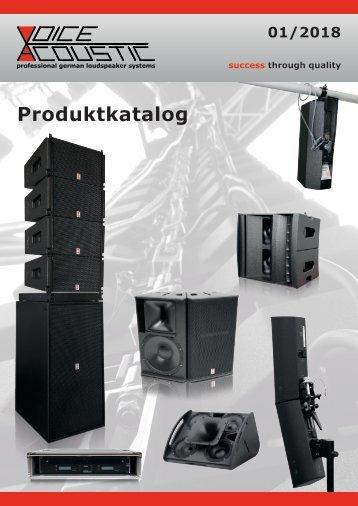 voice-acoustic-produktkatalog