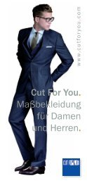 Faltblatt Cut For You - unterdenlinden.de