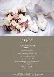 Regent Berlin Hochzeitsarrangements finden Sie hier! -  Fischers Fritz