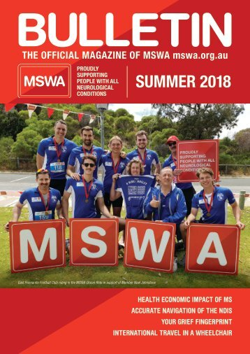 MSWA Bulletin Magazine Summer 2018