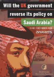 Will the UK government reverse its policy on Saudi Arabia?