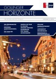 Gollinger Horizonte Ausgabe 2/2018