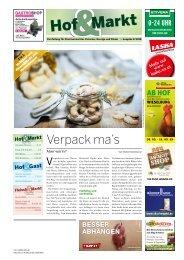 Hof & Markt | Fleisch & Markt | Hof & Gast 08/2018